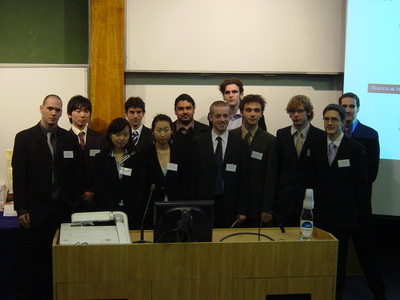 Finalists of the Third University Speech Contest