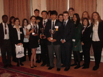 Finalists at the 2008 Nihongo Cup